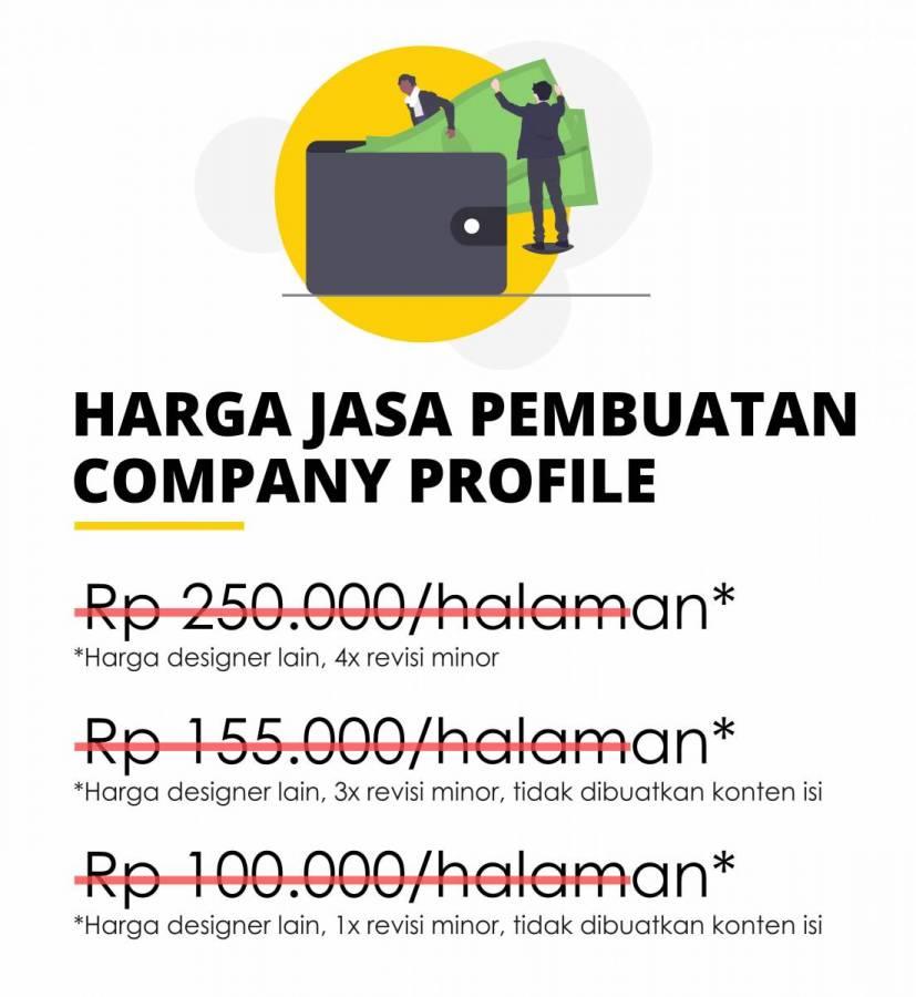 harga company profile
