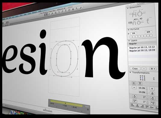 cara menentukan font